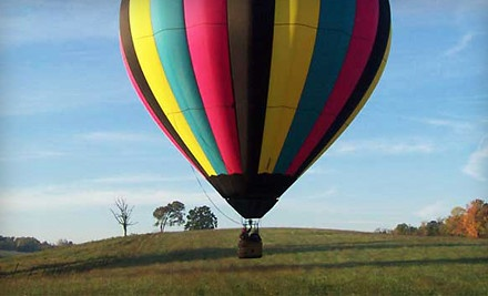 Hot Air Balloon Ride with a Glass of Champagne for 1 Person (a $259 value) - Arizona Balloon Safaris in Marana