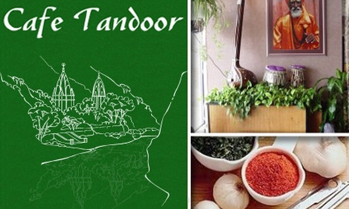 Cafe Tandoor - Multiple Locations: $15 for $35 Worth of Indian Fare and Drinks at Cafe Tandoor