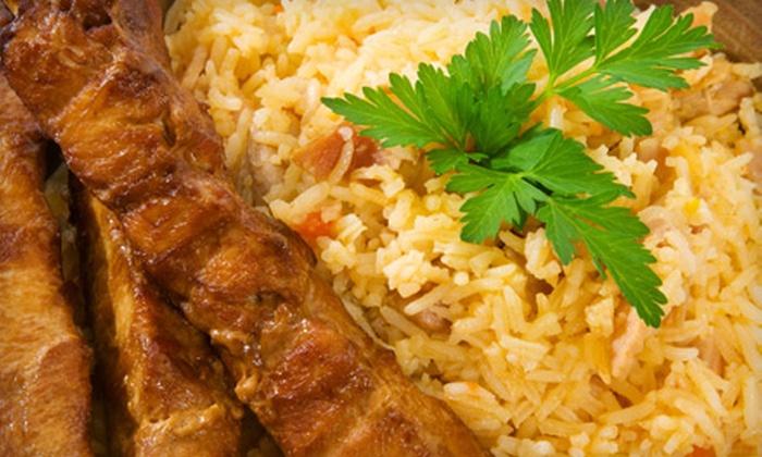 The Kiosk Restaurant & Bar - East Harlem: Moroccan Fare or Hookah Package at The Kiosk Restaurant (Up to 55% Off)