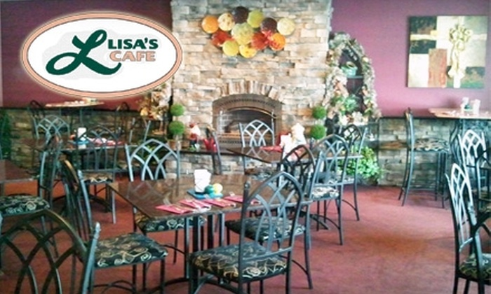 Lisa's Cafe - Palmyra: $15 for $30 Worth of Dinner Fare at Lisa's Cafe (or $10 for $20 Worth of Lunch and Breakfast Fare)