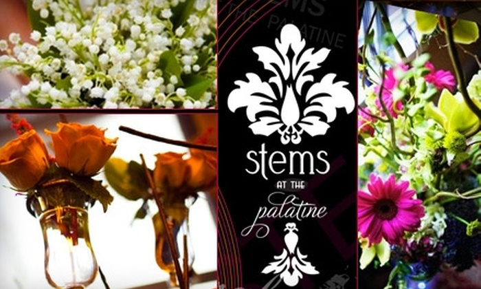 Stems at the Palatine - Woodward Park: $40 Worth of Flowers from Stems at the Palatine