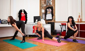 Ruby Room Studio: Four Weeks of Unlimited Yoga Classes at Ruby Room Studio (73% Off)