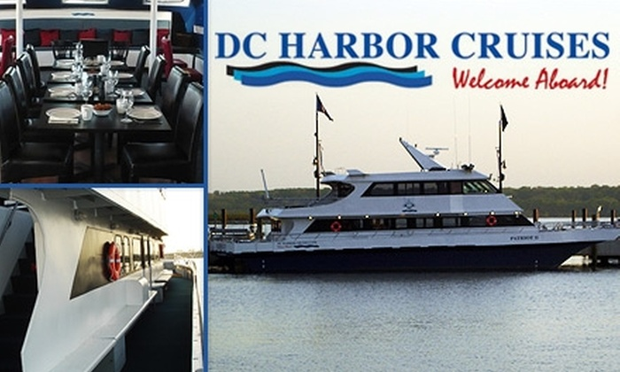 DC Harbor Cruises - Navy Yard: $12 for a Daytime or Twilight Cruise from DC Harbor Cruises ($24 Value)