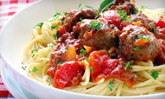 Bella Italia - Pleasant Hill: $10 for $20 Worth of Italian Cuisine at Bella Italia