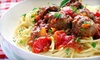 Bella Italia - Pleasant Hill: $10 for $20 Worth of Italian Cuisine at Bella Italia