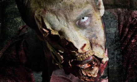 $29.99 for Zombie Apocalypse Live Experience for Two Presented by 13th Floor Haunted House ($59.98 Value)