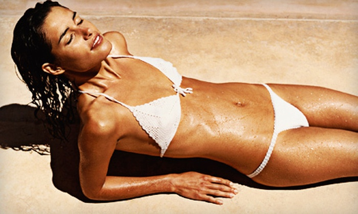 Fijian Sun Tanning Studios - Victoria: One or Two Sunless Airbrush Tans at Fijian Sun Tanning Studios (Up to 56% Off)