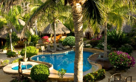 Groupon Deal: 4- or 7-Night Stay for Two with Classes and Other Add-Ons at Present Moment Retreat in Troncones Beach, Mexico