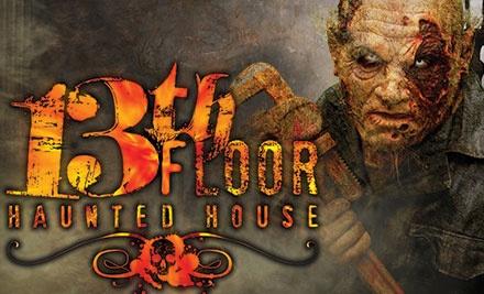 13th floor haunted house in phoenix az groupon for 13th floor phoenix arizona