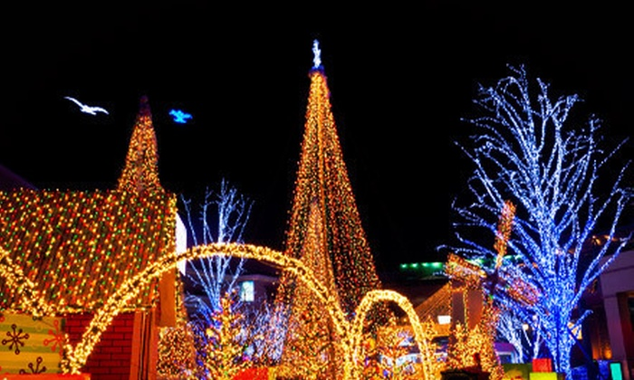 Chickasha Wings, Inc. - Chickasha: $59 for a 20-Minute Christmas-Lights Flight for Up to Three from Chickasha Wings, Inc. (Up to $120 Value)