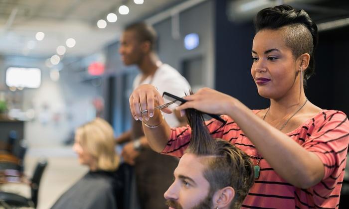 Hair Creation Salon & Spa - Hollister: Haircut Packages at Hair Creation Salon & Spa  (51% Off). Three Options Available.