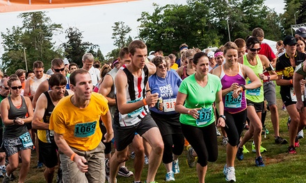 Entry for One or Two to the Run 4US Half Marathon on Saturday, August 15 (40% Off)