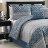 6-Piece Print Comforter Set available in Queen and King