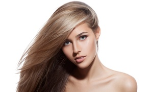 Venus Salon and Spa: Haircut, Deep Condition, and Blow Dry with Optional Partial Highlights at Venus Salon and Spa (Up to 76% Off)