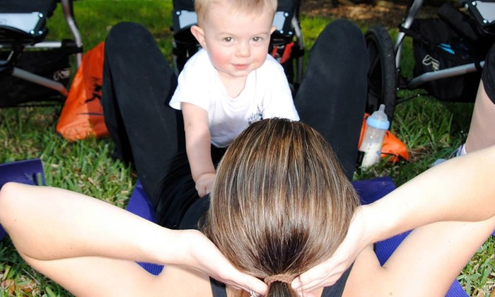 Baby Boot Camp - Rancho San Antonio: Eight Stroller Fitness Classes or One Month of Unlimited Stroller Fitness Classes at Baby Boot Camp (Up to 61% Off)