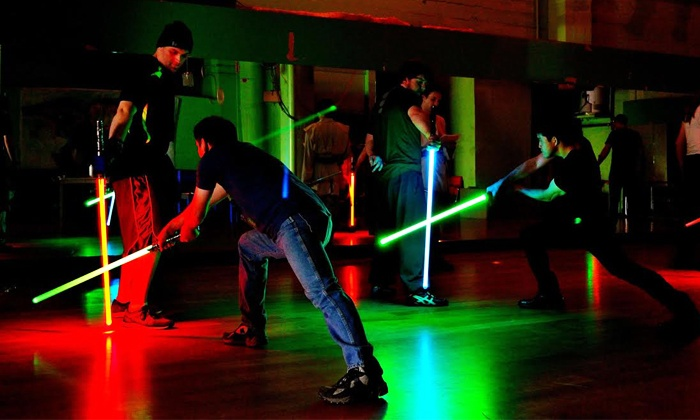 Golden Gate Knights - Golden Gate Knights: Four Jedi Lightsaber Stage-Combat Classes for One, Two, or Four at Golden Gate Knights (Up to 57% Off)