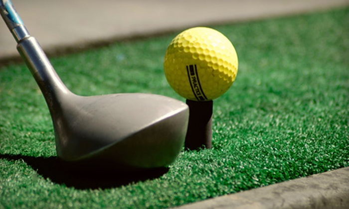 The Practice Tee Driving Range - Greater Sudbury: C$10 for Two Large Buckets of Range Balls at The Practice Tee Driving Range ($20 Value)