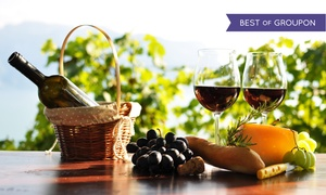 Pugliese Vineyards: Wine Tasting with Cheese-and-Cracker Plate for Two or Four at Pugliese Vineyards (Up to 50% Off)