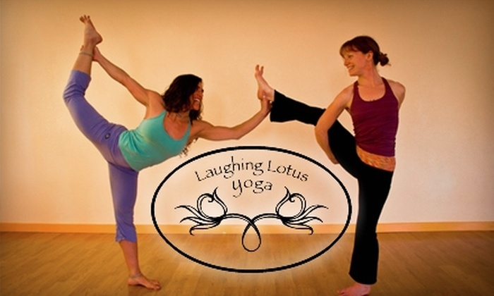 Laughing Lotus Yoga - Taku / Campbell: $44 for One Month of Unlimited Yoga at Laughing Lotus Yoga of Anchorage