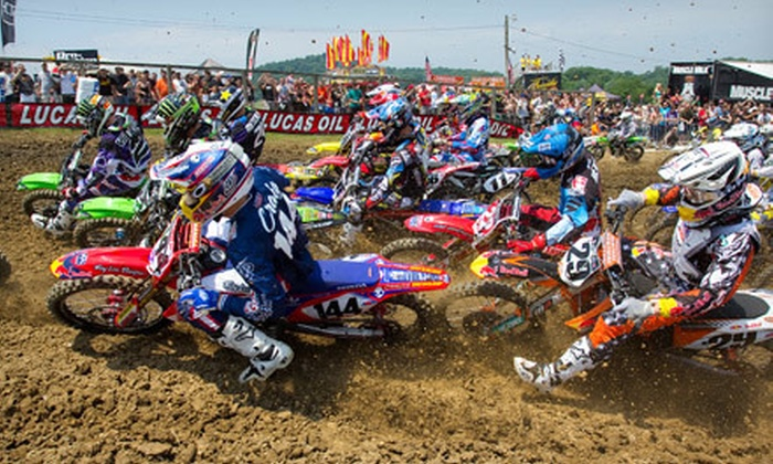 Round 4 of the Lucas Oil Pro Motocross Championship - FMF High Point National: One- or Two-Day Package to Pro Motocross Championship's High Point National in Mount Morris on June 8–9 (Up to Half Off)