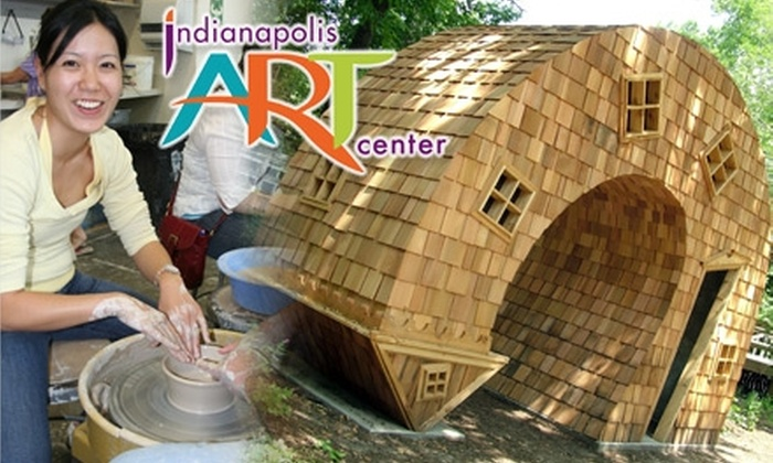 Indianapolis Art Center: $29 for Family Membership ($60 Value) or $20 for Individual Membership ($45 Value) to the Indianapolis Art Center