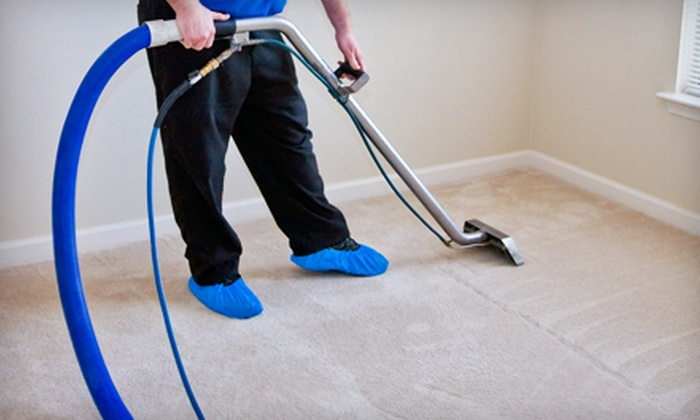 Budget Carpet Cleaning - Detroit: Three Rooms of Carpet Cleaning or 150 Square Feet of Tile and Grout Cleaning from Budget Carpet Cleaning (Up to 74% Off)