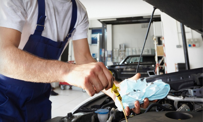 SAP Automotive Center - Baltimore: $27 for Three Full-Service Oil Changes at SAP Automotive Center ($104.97 Value)