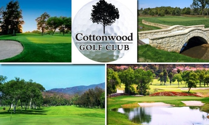 Cottonwood Golf Club - Rancho San Diego: $60 for 18 Holes of Golf for Two and Brunch at Cottonwood Golf Club (Up to $126 Value)