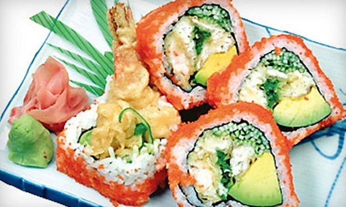 Ginza Sushi Bar - Wauwatosa: $15 For $30 Worth of Sushi and Other Asian Fare at Ginza Sushi Bar