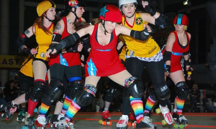 Philly Roller Girls - University City: Two Tickets to Philly Roller Girls Doubleheader. Two Dates Available.