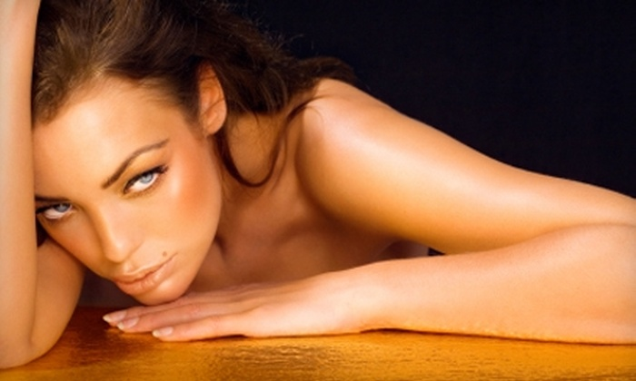 Sonoma Spa & Salon - Quincy: $29 for Three Full-Body Custom Spray Tans at Sonoma Spa & Salon in Quincy ($105 Value)