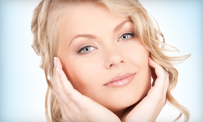 The Skin Care Clinic - Newport Beach: Hydrating Facial with Light Treatment or Medical-Grade Facial with Light Treatment at The Skin Care Clinic in Newport Beach