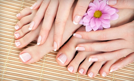 Mani-Pedi and Foot Massage (a $50 value) - Nails Design in Kent