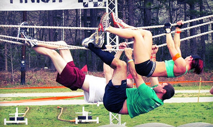 Metro Dash Boston - Topsfield: $22 for Metro Dash Boston Obstacle-Course Race Entry on Saturday, May 19, at Topsfield Fairgrounds (Up to $50 Value)