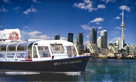 1-Hour Boat Tour of Toronto Harbour and Islands, Redeemable MondayFriday  - Toronto Harbour Tours in Toronto