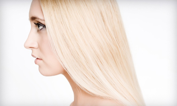 Michael Helene Salon - Dulles Trade Center: Haircut, Haircut and Highlights, or Haircut and Smoothing Treatment at Michael Helene Salon in Dulles (Up to 53% Off)