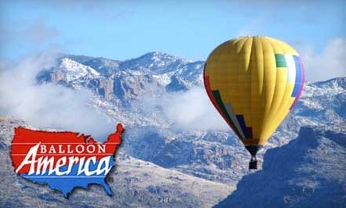 Balloon America - Tucson: $199 for a Catalina Mountain Tour at Balloon America and a Week Membership to La Mariposa
