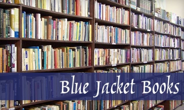 Blue Jacket Books - Xenia: $10 for $20 Worth of Books at Blue Jacket Books