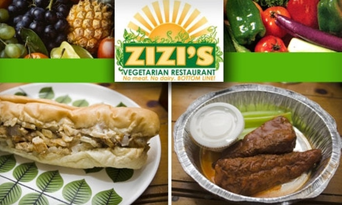 Zizi's - Mineral Springs: $5 for $10 Worth of Flavorful Vegan Carryout at Zizi's