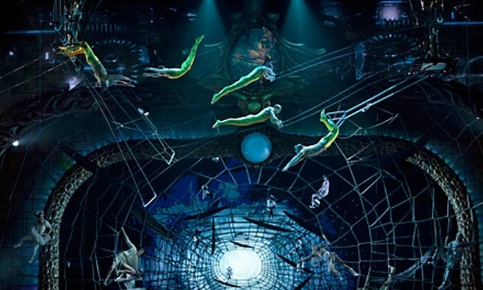 """Zarkana"" from Cirque du Soleil - North Jersey: $62 for One Orchestra or First Mezzanine Ticket to ""Zarkana"" from Cirque du Soleil at Radio City Music Hall ($140 Value)"