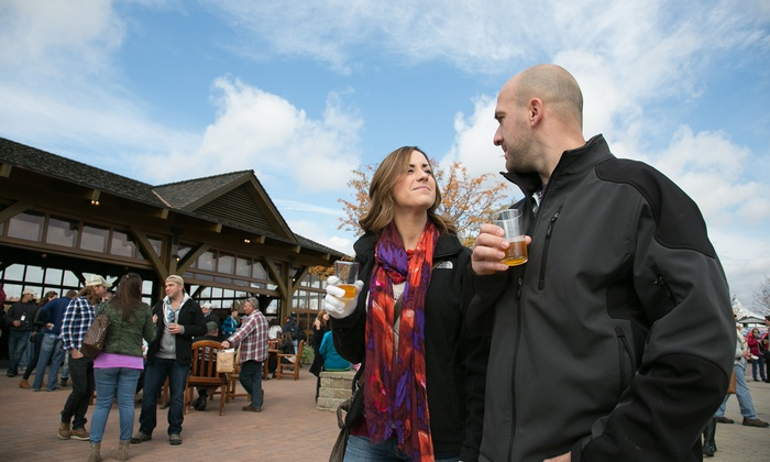 Wine or Craft Beer Festival at Bethel Woods - Bethel, NY: Wine or Craft Beer Festival with Museum Admission at Bethel Woods Center for The Arts (Up to 38% Off)