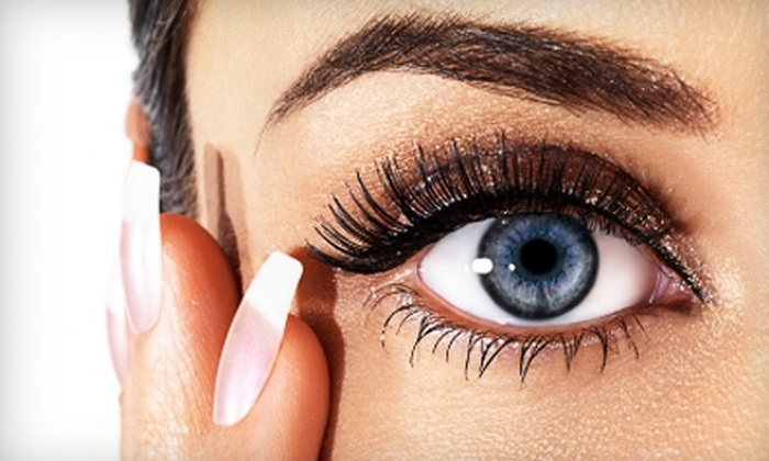 Peace, Love & Lashes - Rockwall: $75 for Set of Mink Eyelash Extensions at Peace, Love & Lashes in Rockwall ($150 Value)