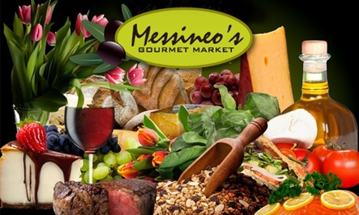 Messineo's Gourmet Market - Downtown St. Petersburg: $10 for $25 Worth of Gourmet Groceries and Deli Fare at Messineo's Gourmet Market in St. Petersburg