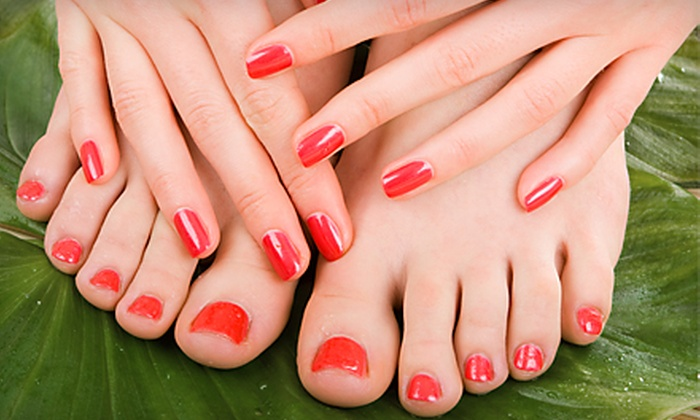(rE) Salon and Spa - Old Orchard Beach: Mini Facial, Three Mini Manicures, or Mani-Pedi at (rE) Salon and Spa (Up to 57% Off)