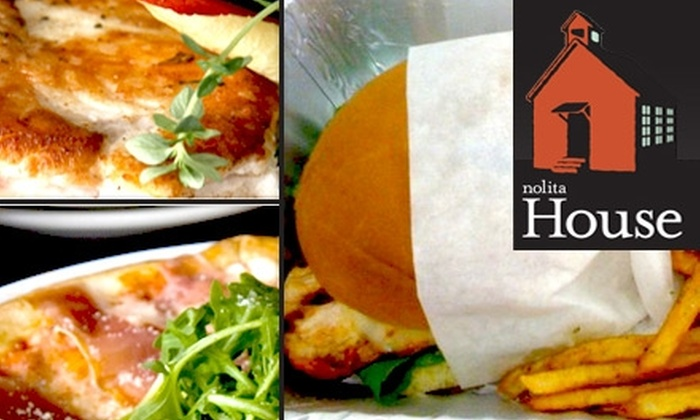 Nolita House - SoHo: $10 for $20 Worth of Upscale Comfort Food, Artisan Cheese and Drinks at Nolita House