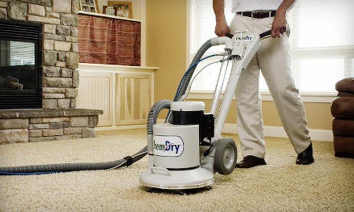 Chem-Dry by Wisdom - Multiple Locations: Three or Four Areas of Carpet Cleaning with Scotch Guard  from Chem-Dry by Wisdom (Up to 53% Off)
