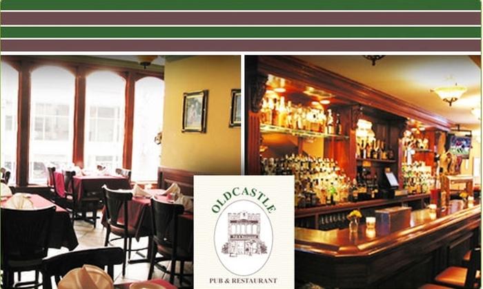 Old Castle Pub & Restaurant - Clinton: $15 for a $30 Groupon to Oldcastle Pub