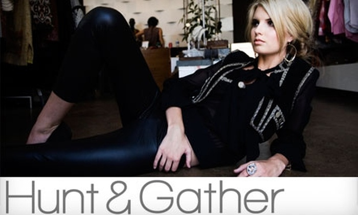 Hunt & Gather - San Diego: $10 for $25 Worth of Vintage Clothing, Accessories and More at Hunt & Gather