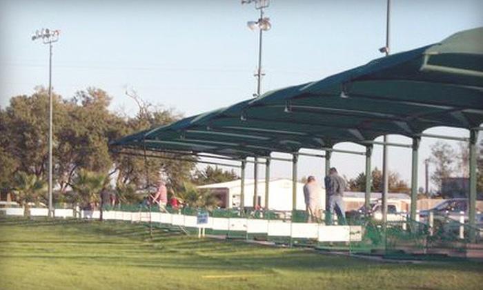 Cedar Park Driving Range - Hur Industrial Park: 4, 6, or 10 Medium Buckets of Balls at Cedar Park Driving Range (Up to 60% Off)