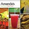 Half Off at Amanda's Restaurant